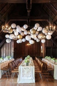 mariage or et blanc hiver